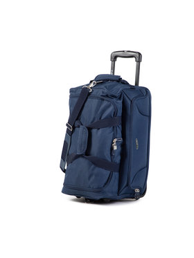 Dielle Dielle Malý textilní kufr 475 Tmavomodrá