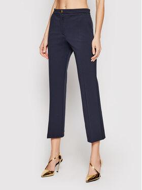 Pinko Pinko Текстилни панталони Gaio PE21 BLK01 1G15SC 5872 Тъмносин Regular Fit