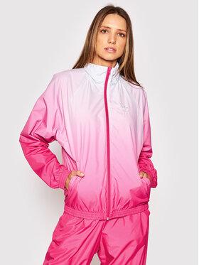 adidas adidas Wiatrówka Tracktop GN2814 Różowy Regular Fit