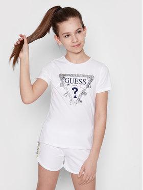 Guess Guess T-Shirt J1RI19 K6YW1 Biały Regular Fit