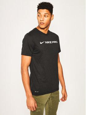 Nike Nike Marškinėliai Dri-Fit CD8985 Juoda Standard Fit