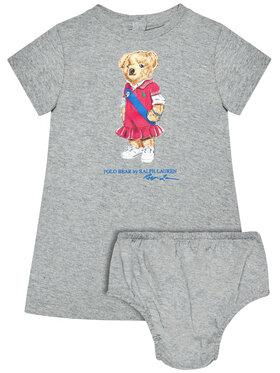 Polo Ralph Lauren Polo Ralph Lauren Marškinėliai Bear 310837200002 Pilka Regular Fit