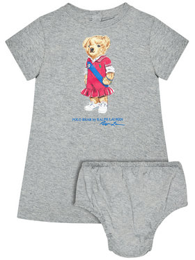 Polo Ralph Lauren Polo Ralph Lauren T-Shirt Bear 310837200002 Grau Regular Fit