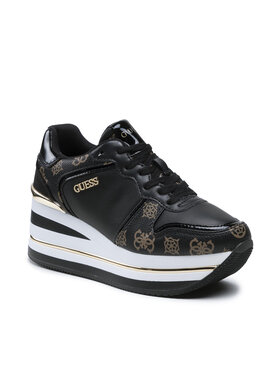 Guess Guess Sneakersy Hektore FL7HEE FAB12 Czarny