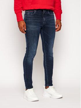 Tommy Jeans Tommy Jeans Skinny Fit džínsy Simon DM0DM09313 Tmavomodrá Skinny Fit