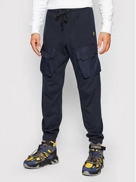 G-Star Raw G-Star Raw Teplákové kalhoty Mixed Cargo D20808-A613-4213 Tmavomodrá Regular Fit
