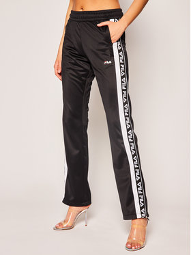 Fila Fila Pantaloni da tuta Tao Track Pants Overlength 687688 Nero Regular Fit