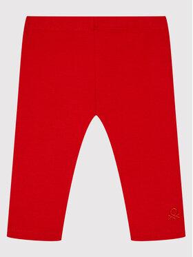 United Colors Of Benetton United Colors Of Benetton Legginsy 3MT1I0042 Czerwony Slim Fit