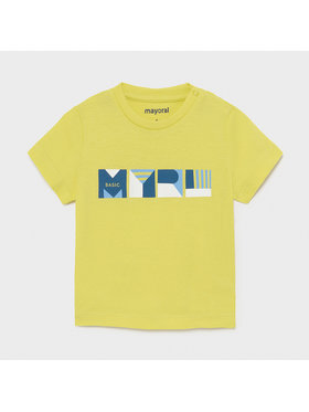 Mayoral Mayoral T-shirt 106 Verde Regular Fit