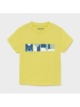 Mayoral Mayoral T-Shirt 106 Zielony Regular Fit
