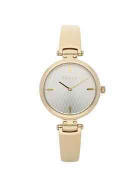 Furla Furla Часовник New Pin WW00018-MT0000-OR000-1-007-20-CN-W Златист