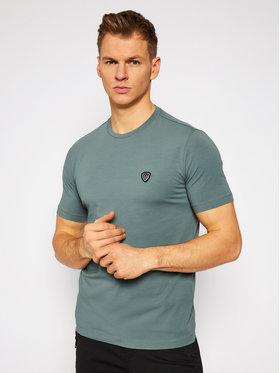 EA7 Emporio Armani EA7 Emporio Armani T-Shirt 8NPTL7 PJ03Z 1858 Zelená Regular Fit