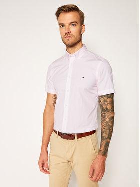 Tommy Hilfiger Tommy Hilfiger Koszula Essential Print MW0MW14484 Różowy Slim Fit