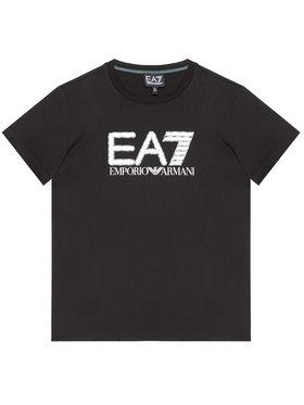 EA7 Emporio Armani EA7 Emporio Armani Marškinėliai 3KBT53 BJ02Z 1200 Juoda Regular Fit