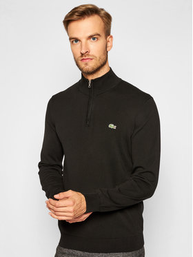 Lacoste Lacoste Pullover AH1980 Schwarz Classic Fit