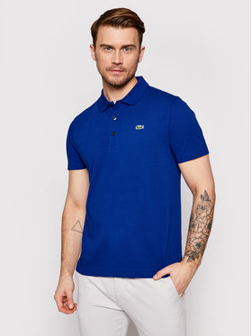 Lacoste Lacoste Tricou polo YH4801 Bleumarin Slim Fit
