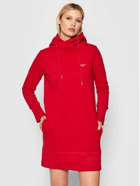Pepe Jeans Pepe Jeans Sukienka dzianinowa Gisela PL952972 Czerwony Regular Fit