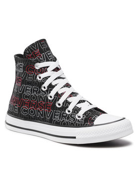 Converse Converse Кецове Ctas Hi 170108C Черен