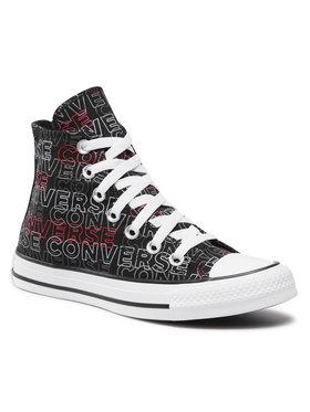Converse Converse Plátenky Ctas Hi 170108C Čierna