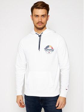 Tommy Jeans Tommy Jeans Sweatshirt Tjm Mountain Graphic DM0DM09426 Blanc Regular Fit