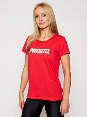 PROSTO. PROSTO. T-Shirt KLASYK Classic 9261 Rot Regular Fit