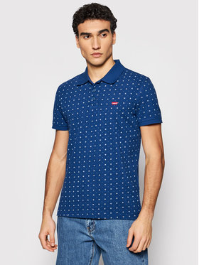 Levi's® Levi's® Polo Standard Housemarked 35883-0013 Granatowy Standard Fit
