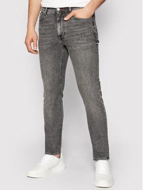 Tommy Hilfiger Tommy Hilfiger Jeans Bleecker MW0MW18032 Grigio Slim Fit