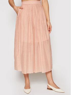 Marella Marella Culotte nadrág Marche 31311015 Rózsaszín Regular Fit