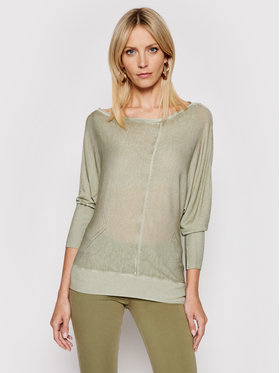 Guess Guess Пуловер W1GR19 Z2UA0 W1GR19 Z2UA0 Зелен Regular Fit