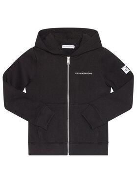 Calvin Klein Jeans Calvin Klein Jeans Pulóver Monogram IB0IB00546 Fekete Regular Fit