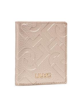Liu Jo Liu Jo Малък дамски портфейл Esc Xs Bifold AF1192 E0538 Златист