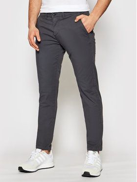 CMP CMP Chino kalhoty 30U7147 Šedá Regular Fit