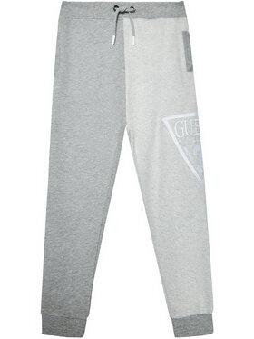 Guess Guess Teplákové kalhoty L1RQ12 KA6R0 Šedá Regular Fit