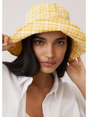 Mango Mango Kapelusz Seer Bucket Hat 87096317 Żółty