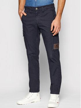Aeronautica Militare Aeronautica Militare Pantalon en tissu 211PA1437CT2847 Bleu marine Regular Fit