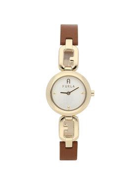 Furla Furla Zegarek Arco Chain WW00015-VIT000-03B00-1-007-20-CN-W Złoty