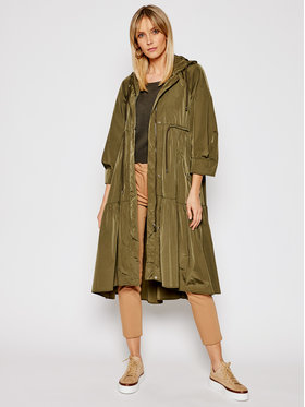 Weekend Max Mara Weekend Max Mara Parka Nora 50210517 Zelená Regular Fit