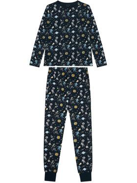 NAME IT NAME IT Pižama Nightset 13190225 Tamsiai mėlyna Regular Fit