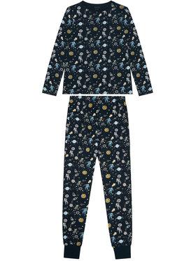 NAME IT NAME IT Pyjama Nightset 13190225 Dunkelblau Regular Fit
