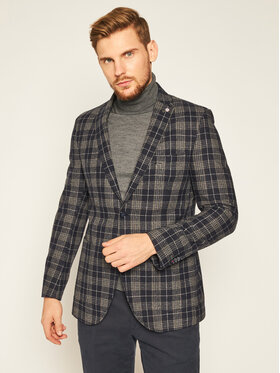 CG - CLUB of GENTS CG - CLUB of GENTS Sacou Cg Adkyn Sv 221022-003 Bleumarin Tailored Fit