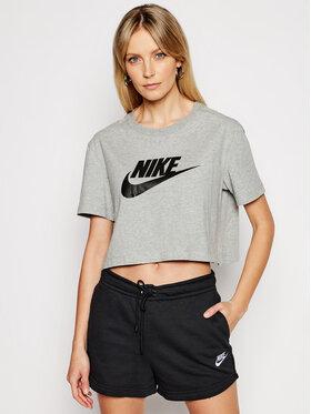 Nike Nike T-Shirt Essential BV6175 Šedá Loose Fit