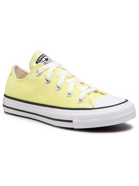 Converse Converse Sneakers aus Stoff Ctas Ox 170156C Gelb