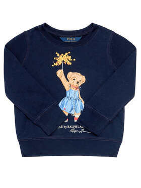 Polo Ralph Lauren Polo Ralph Lauren Džemperis Bear Cn Po 313807094001 Tamsiai mėlyna Regular Fit