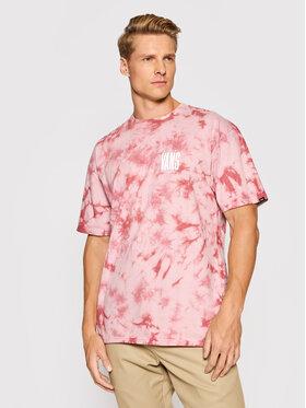 Vans Vans T-Shirt Tall Type Tie VN0A5FQZ Różowy Classic Fit