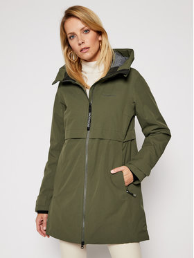 Didriksons Didriksons Parka Helle 503169 Zielony Classic Fit