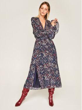 IRO IRO Každodenní šaty Kage AN101 Tmavomodrá Regular Fit