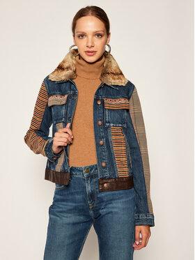 Desigual Desigual Kurtka jeansowa Almu 20WWED22 Granatowy Regular Fit