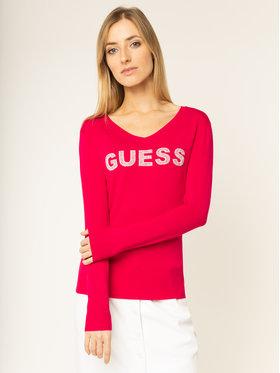 Guess Guess Svetr Megan W01R93 Z2760 Růžová Regular Fit
