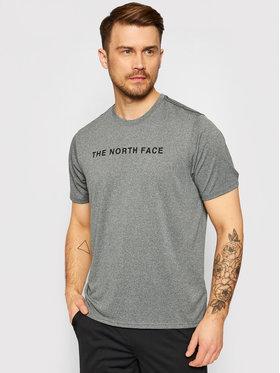 The North Face The North Face Koszulka techniczna Tnl Tee NF0A3UWV Szary Regular Fit