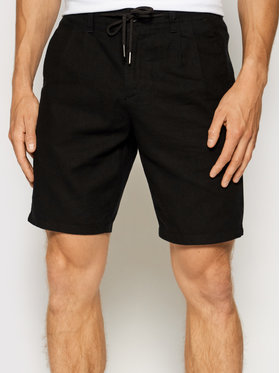 Only & Sons ONLY & SONS Bavlnené šortky Leo 22019201 Čierna Regular Fit